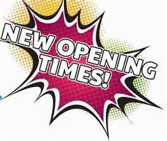 New Opening Time