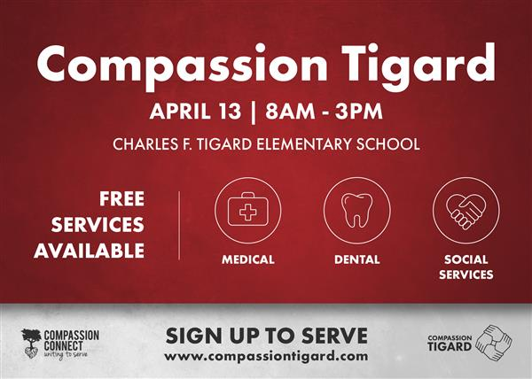 Compassion Clinic - April 13th
