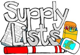 2019-2020 Bilingual School Supply List