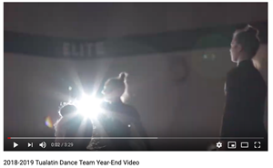 Year End Video Dance Team