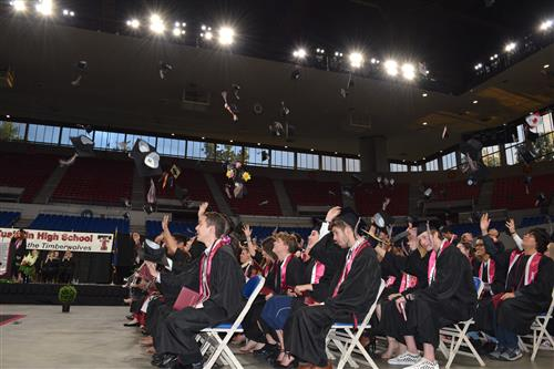 Graduation Ceremony at the Memorial Coliseum