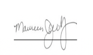 Maureen Wolf Signature