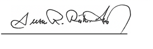 Sue Rieke signature