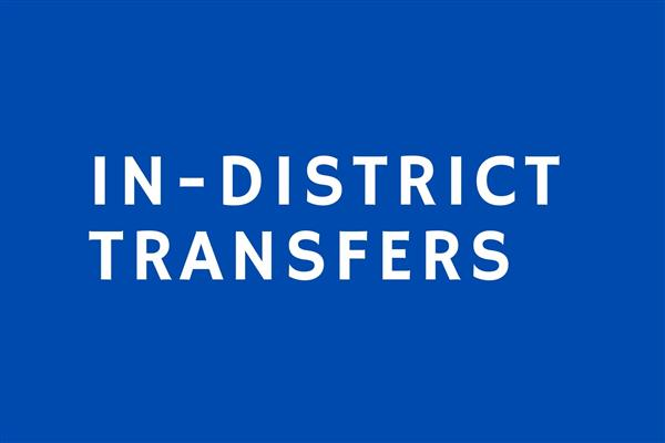 In-district Transfers
