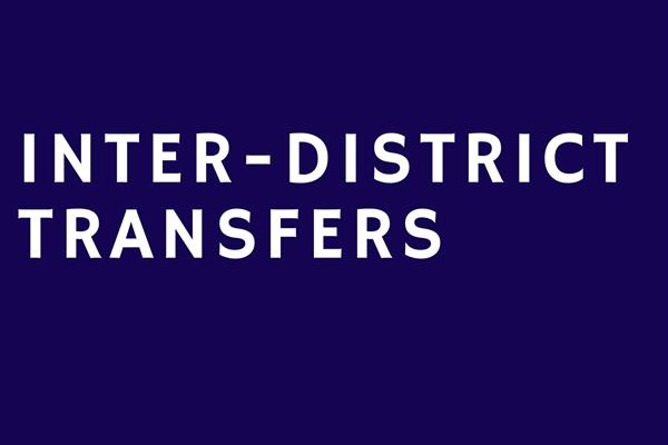 Inter-district Transfers