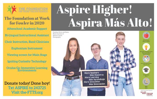 Foundation Aspire Higher Flyer