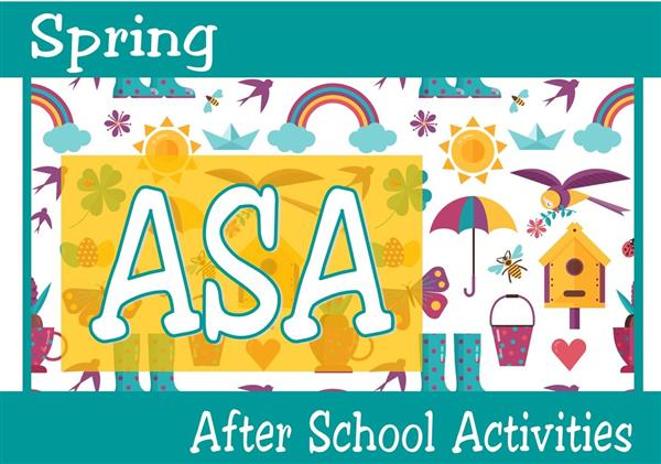 Spring ASA Forms Available Now