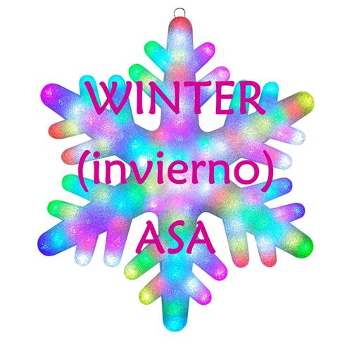 Winter ASA Snowflake
