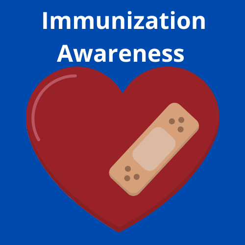 Heart icon of Immunization Awareness