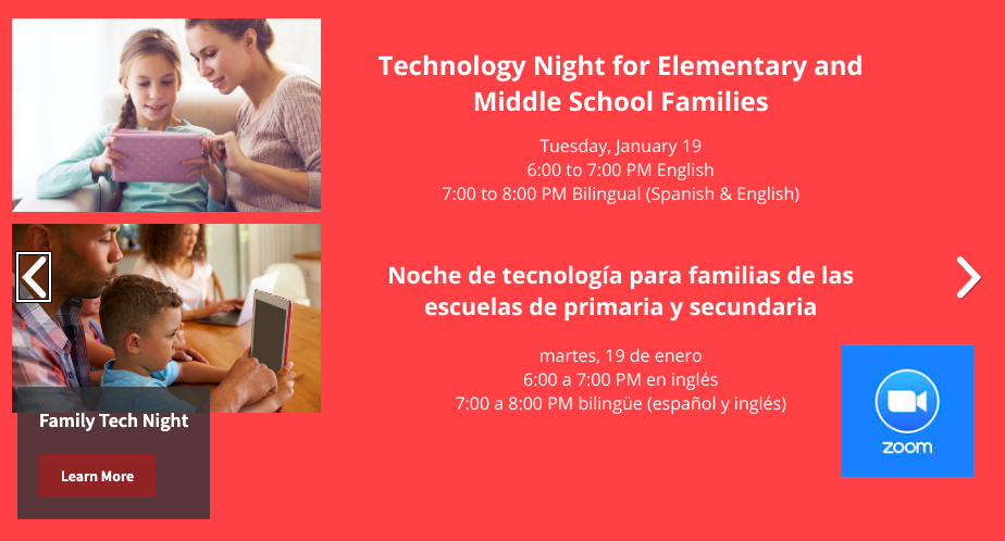 Icon for Tech Night: How iPads Make Learning Easier