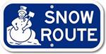Snow Route Image