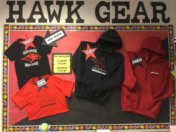 New Hawk Gear now available for purchase