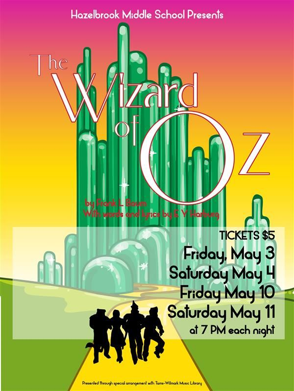 Spring play / The Wizard of Oz
