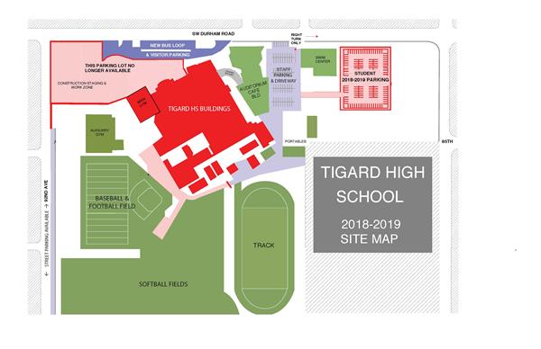 Tigard High School Construction Update Fall 2018
