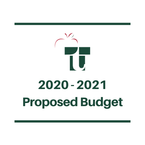 2020-2021 TTSD Proposed Budget
