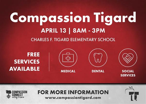 Compassion Tigard Event Flyer