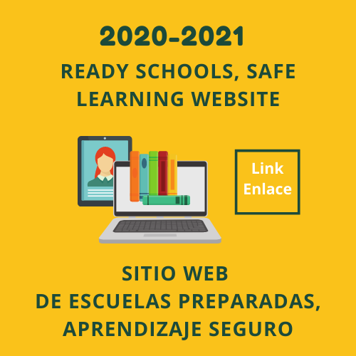Ready schools, safe learning website