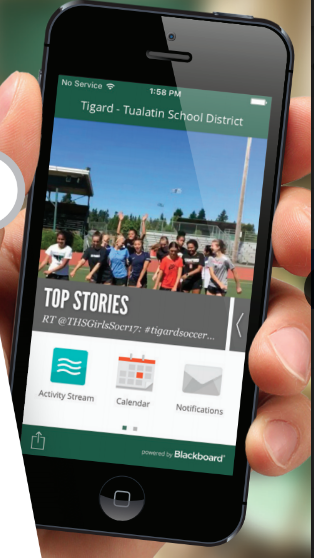 Tigard Tualatin mobile application