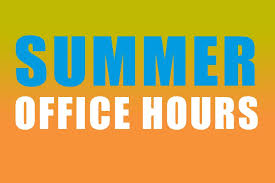 School Based Health Center Summer Hours