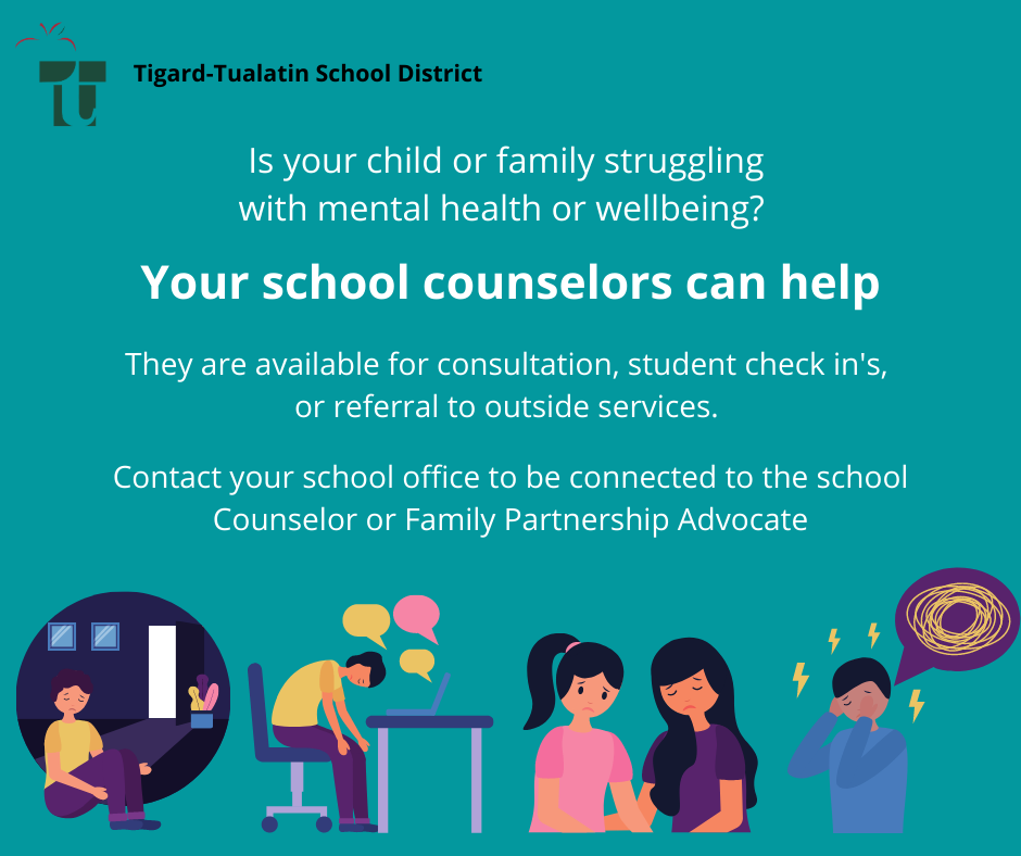 Is your child or family struggling with mental health or wellbeing?
